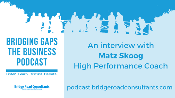 Bridging Gaps - The Business Podcast - Matz Skoog
