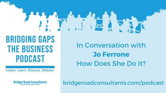 In Conversation with Jo Ferrone
