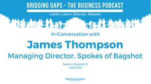 James Thompson - Managing Director, Spokes of Bagshot