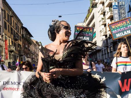 Gay pride in Milan