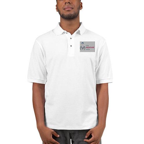 Men's Premium Polo White