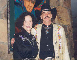 Don Bendell with Kathy L'Amour