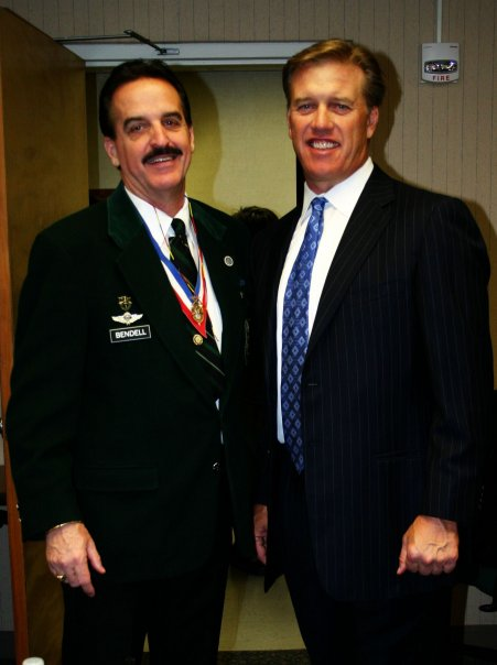 John Elway and Don Bendell