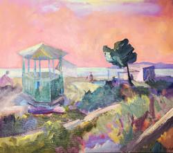 Landscape/acrylic on canvas 100X100