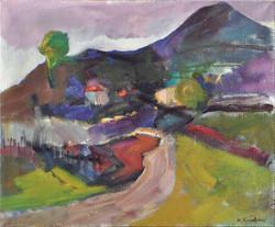 Landscape/acrylic on canvas/86x104cm