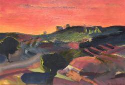 Dawn acrlyric on canvas 70x50cm