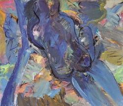 Erotic/acrylic on canvas/87x104cm