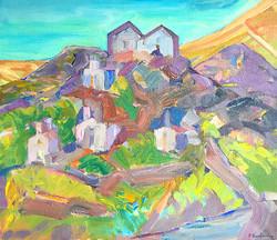 Landscape/acrylic on canvas/110x100