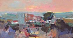 Landscape/acrylic on canvas/70x120cm