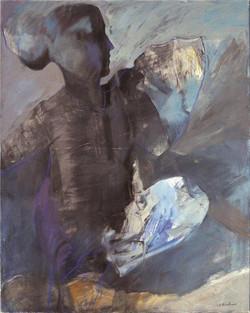 Figure/acrylic on canvas/100x80cm