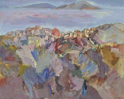 Landscape/acrylic on canvas/141x170