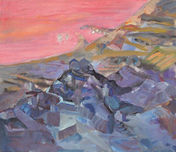 Landscape/acrylic on canvas/120x137
