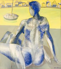 Aegina/acrylic on canvas/90x120cm