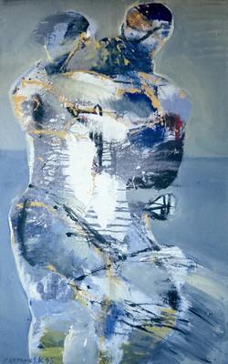 Meeting/acrylic on canvas/250x160cm