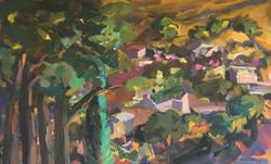 Landscape acrylic on canvas 80x90cm