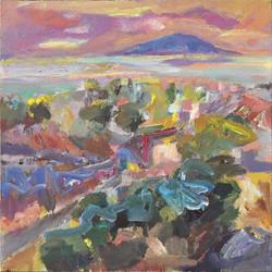 Landscape/acrylic on canvas/104x104