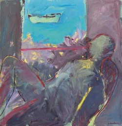 Frail/acrylic on canvas/100x100cm