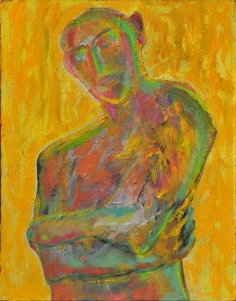 Figure/acrylic on canvas/70x90cm