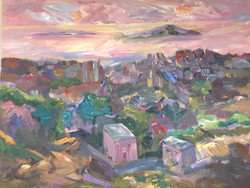 Landscape acrylic on canvas 170x140