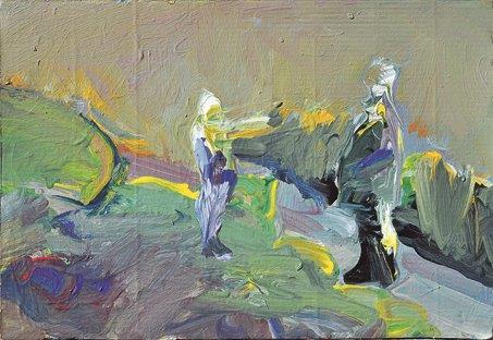 Untitled/acrylic on canvas/50x50cm
