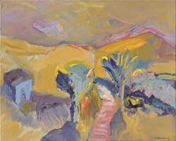 Landscape/acrylic on canvas/80x100cm