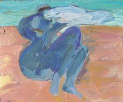Figure/acrylic on canvas/100x100cm