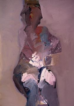 Figure/acrylic on canvas/80x100cm