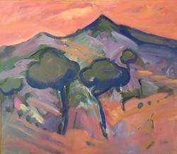 Dawn acrylic on canvas 70x50cm