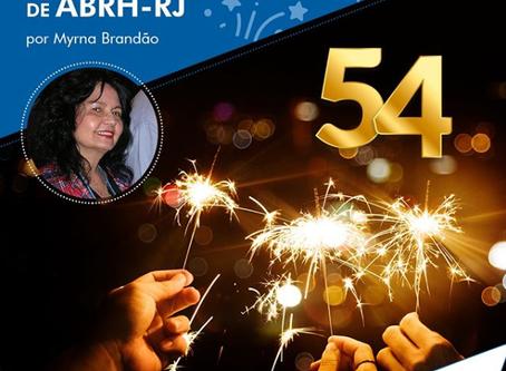 ABRH-RJ - 54 anos