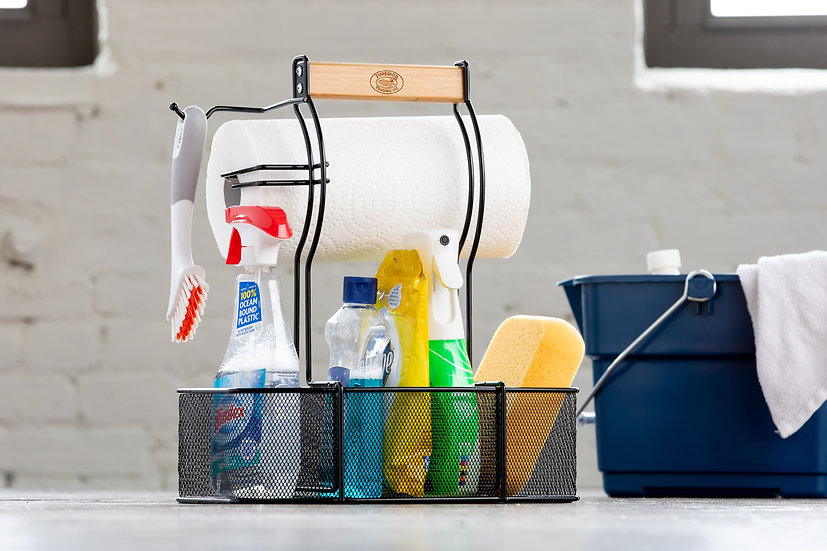 BBQ & Cleaning Caddy Organizer
