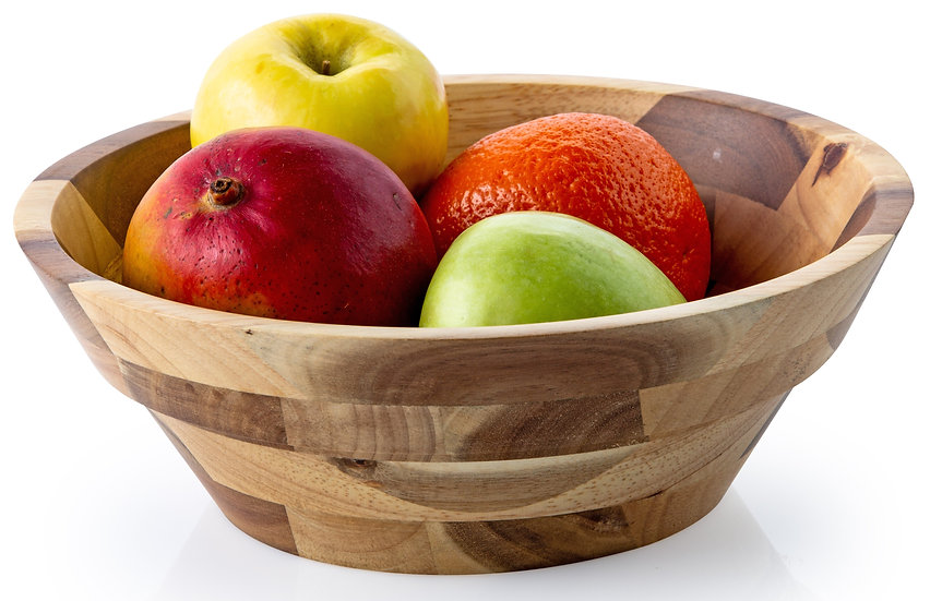 Rubberwood Bowl