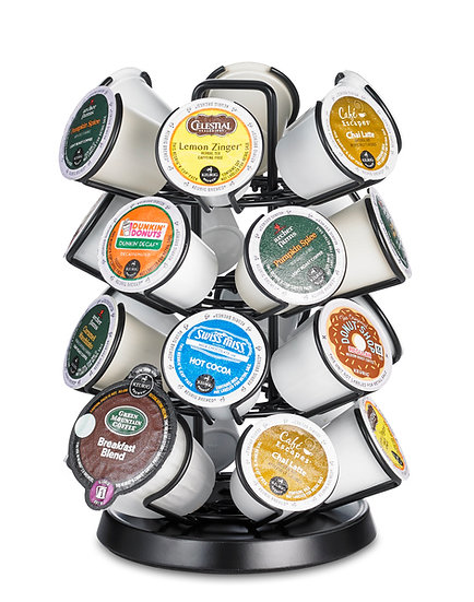 K Cup Carousel. 24 ct. Black