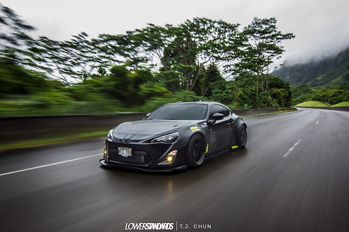 "Rocket Bunny FRS Rolling shot canvas 16""x20"""