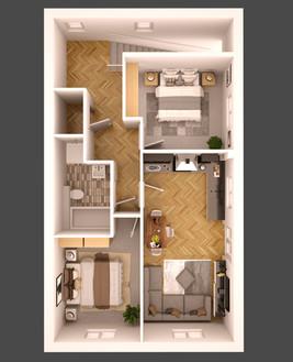 E - First floor