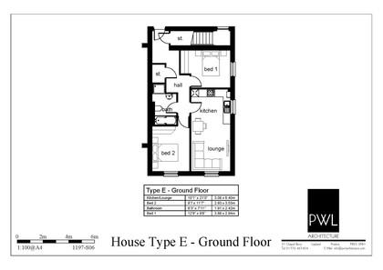 Type E - ground floor