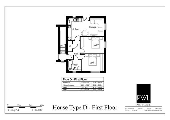 Type D - first floor