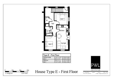 Type E - first floor