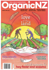 image of magazine cover for OrganicNZ