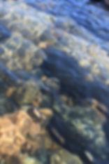 Pic River Guest Suite Rocks in water.jpg
