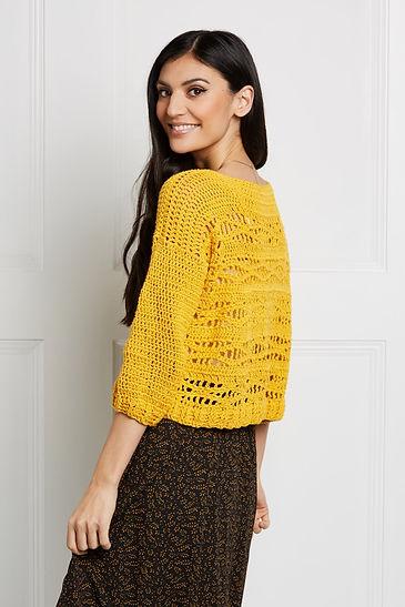 Laura Algarra - Blossom Sweater - Paintb