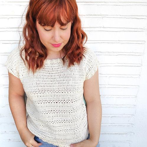 Faro Tee Crochet Pattern
