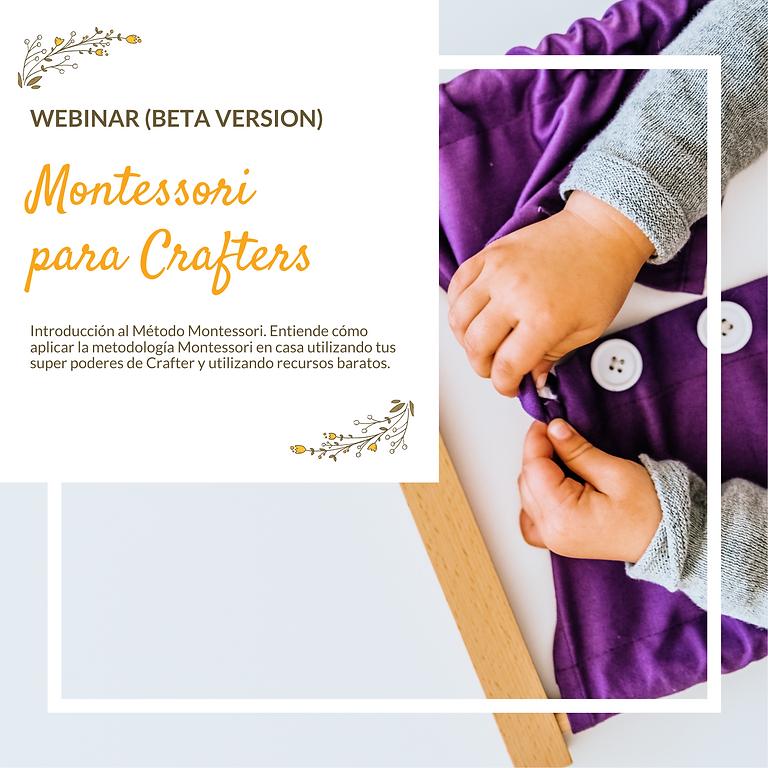 Introduccion a Montessori para Crafters (Grupo BETA)