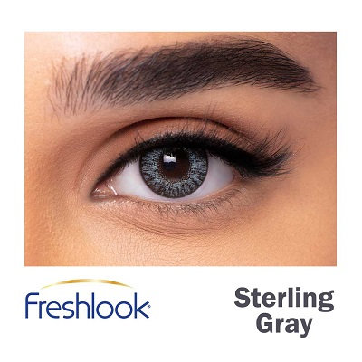 Freshlook Color Blends - Sterling Gray