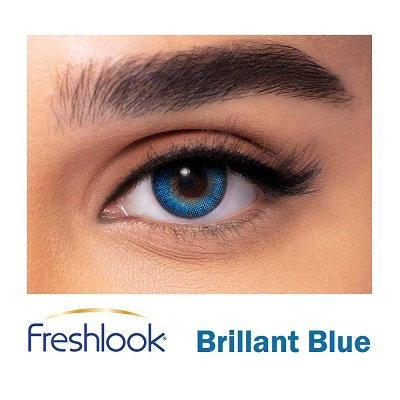 Freshlook Color Blends - Briliant Blue