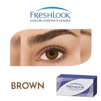 Freshlook Color Blends - Brown