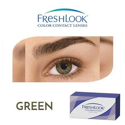 Freshlook Color Blends - Green
