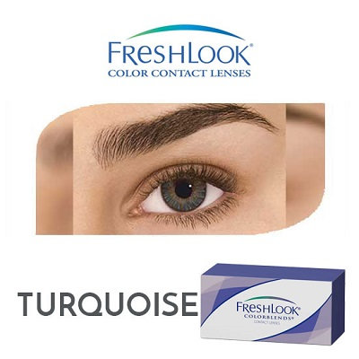 Freshlook Color Blends - Turquoise