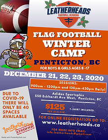 LFA Winter Camp Poster - Penticton, BC -