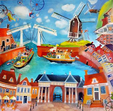 Heusden Haven Holland