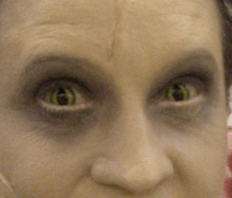 as Closet Monster, 2009, eyes